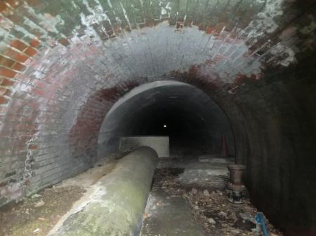 名越送水管路隧道 横須賀市水道局