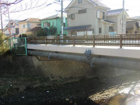 横須賀水道田越川水管橋(下田橋)