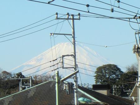 富士山・横須賀線ろくたん踏切付近