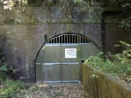 盛福寺管路隧道入口