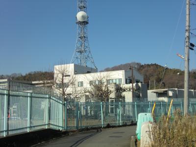 谷ケ原浄水場外周道