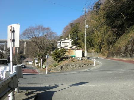 県道510号線小倉橋バス停付近