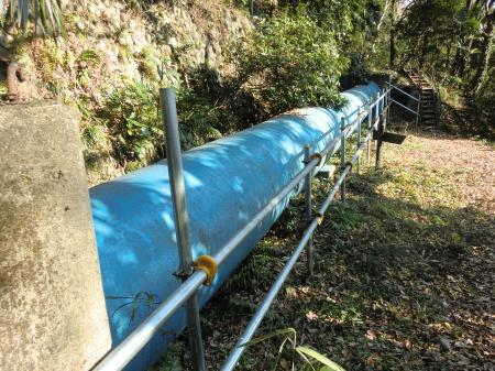神奈川県営水道導水管1100mm大島