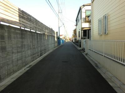 神奈川県営水道みち・相模原市中央区田名