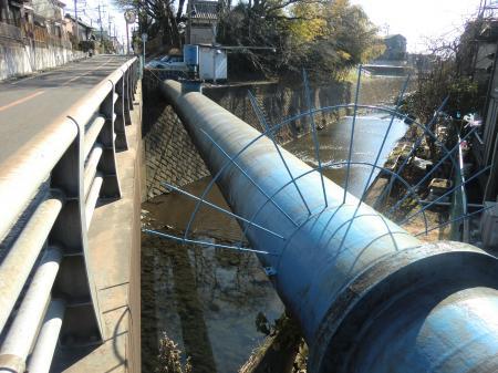 神奈川県営水道・虹吹橋水管橋