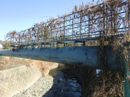 神奈川県水かじこ橋水管橋