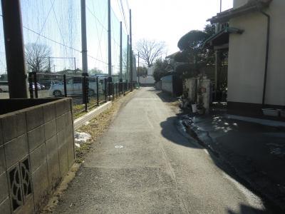 神奈川県営水道みち・麻溝小付近