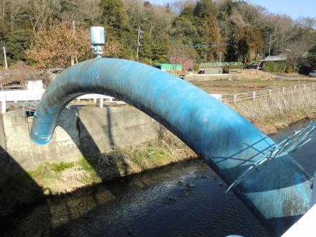 八瀬川桧橋水管橋