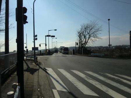 相模川県道508号線昭和橋東詰