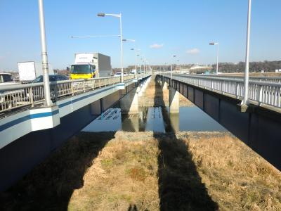昭和橋と昭和橋側道橋