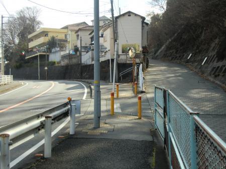 県道508号線堂坂分岐点