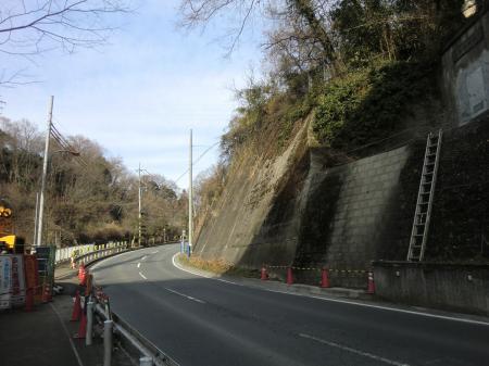 小倉橋灌漑用水路撤去工事現場