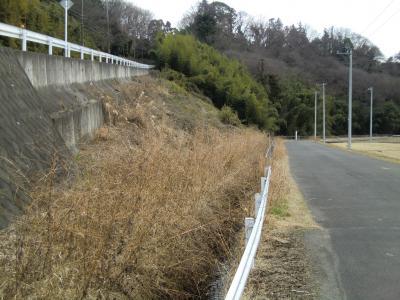 横須賀水道みち水道坂・愛川町角田