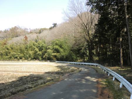 横須賀水道みち水道坂付近・愛川町角田
