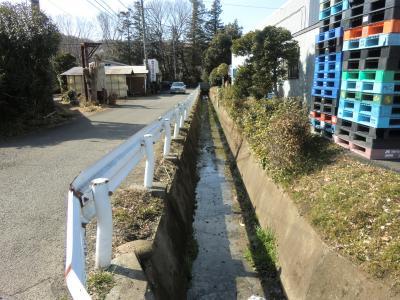 横須賀水道竪下水・愛川町中津