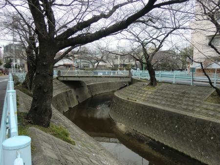 山崎川・日岡橋