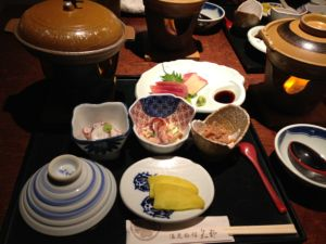 矢野旅館夕食