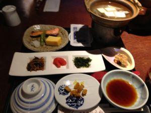 矢野旅館朝食