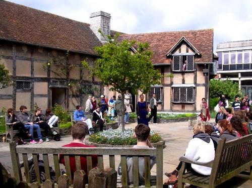 イギリスB2012.06 374 シェイクスピア生家