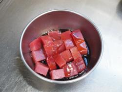 まぐろとアボカド長芋の海苔巻28