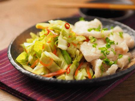 鶏むね水晶キャベツぽん酢15