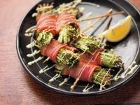 水菜のチーズベーコン巻き02 (2)