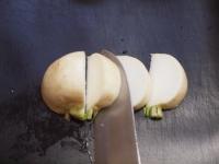 カブと白菜の豆乳パスタ43