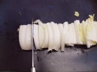 カブと白菜の豆乳パスタ47