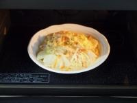 カブと白菜の豆乳パスタ63
