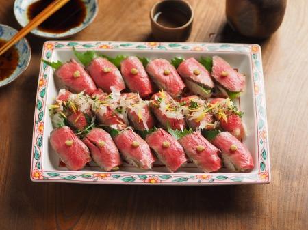 ローストビーフにぎり寿司07