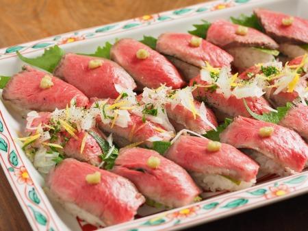 ローストビーフにぎり寿司14
