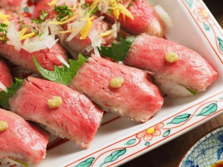 ローストビーフにぎり寿司24