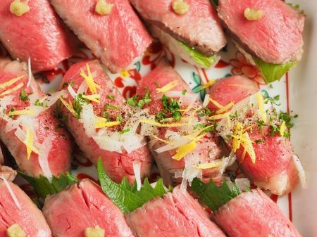 ローストビーフにぎり寿司22