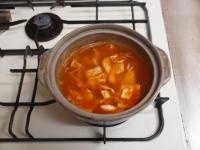 サンマのキムチ鍋50