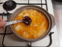 サンマのキムチ鍋54
