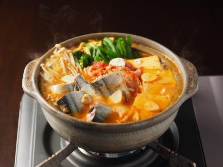 サンマのキムチ鍋12