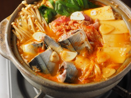 サンマのキムチ鍋31