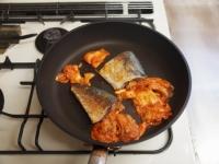 鯖のキムチ煮22