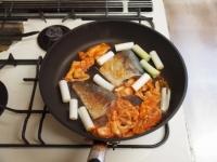 鯖のキムチ煮23