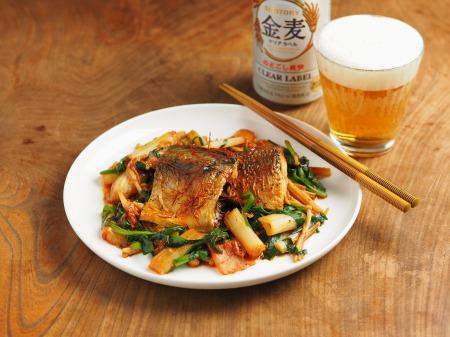 鯖のキムチ煮15