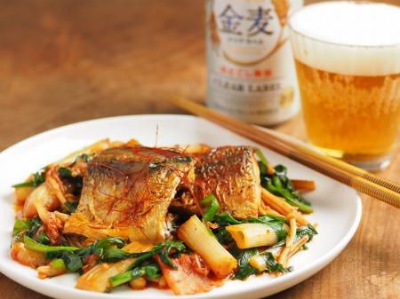 鯖のキムチ煮17