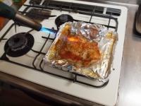 にんにくホイル焼き鶏塩焼き48