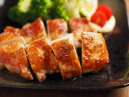 にんにくホイル焼き鶏塩焼き07