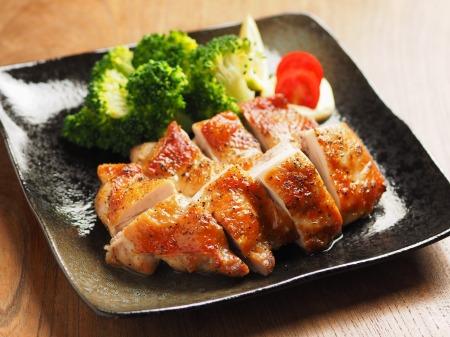 にんにくホイル焼き鶏塩焼き13