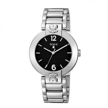 トウス 黒の腕時計