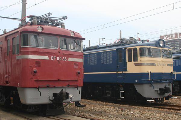EF60510との並び