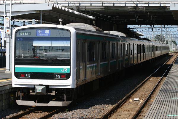 E501系 K701編成