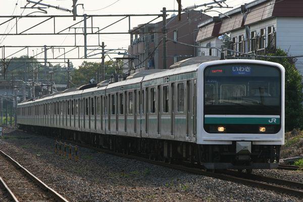 E501系 K702編成