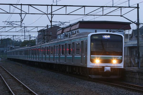 E501系 K704編成