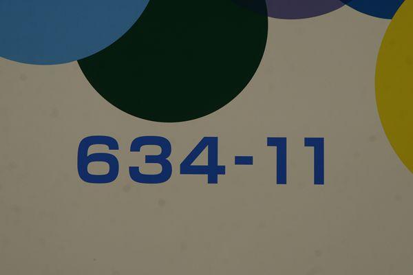 634-11車番